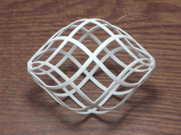 Zonohedron 3d printed zonohedron with 6 zones each direction