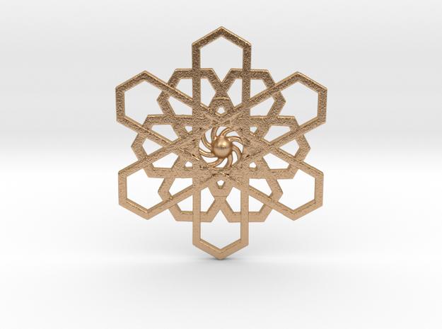 Inner Star in Natural Bronze