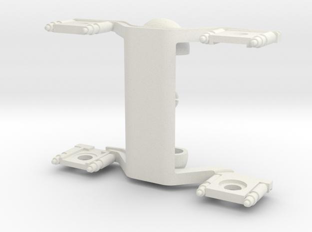 Buggie Clip Elt v5 TT 1:120 in White Premium Versatile Plastic