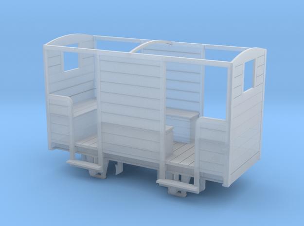 RNAD Brake Van - Open Variant in Smoothest Fine Detail Plastic