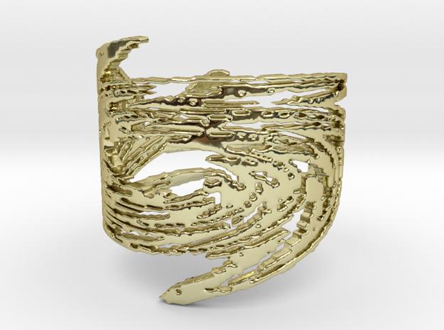 Filigree Starburst Ring in 18K Yellow Gold: 6 / 51.5