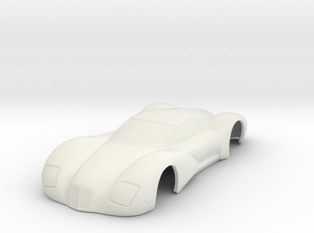 "HWP 2018 ""Auburn"" Concept Car in White Natural Versatile Plastic"