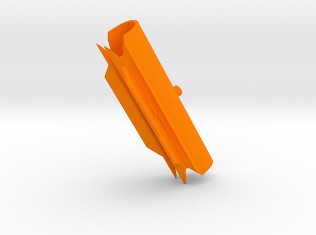 "Cape Dory Typhoon Spartan 2 3/4"" CD-2 mast in Orange Processed Versatile Plastic"