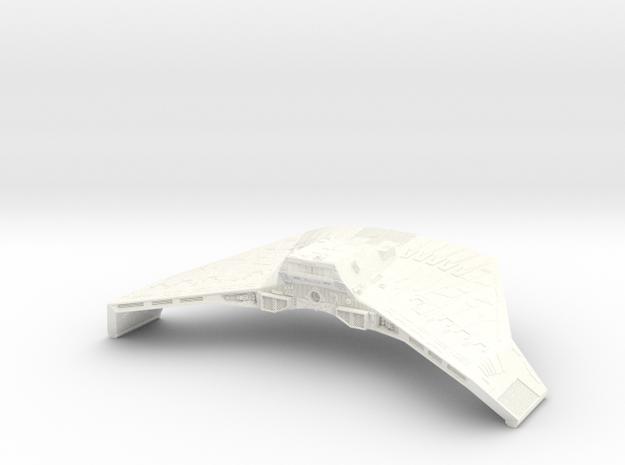 1400 Ktinga Eng Hull in White Processed Versatile Plastic