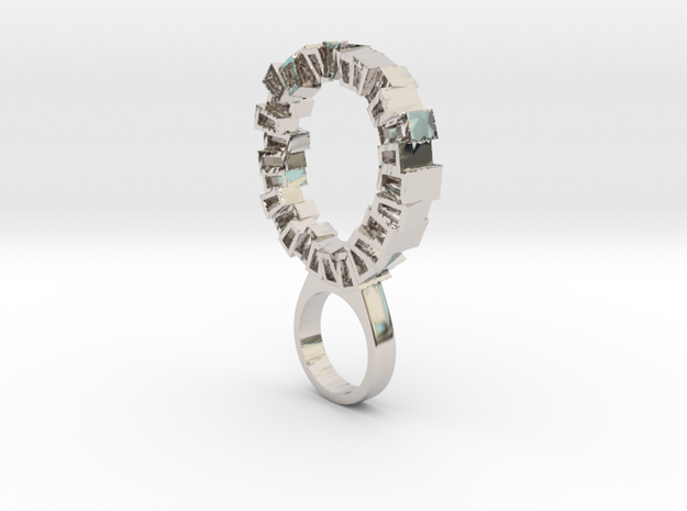 Fragments in Rhodium Plated Brass