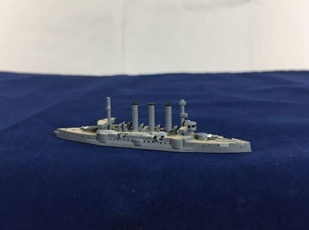 IJN Idzumo 1/1800 in White Natural Versatile Plastic