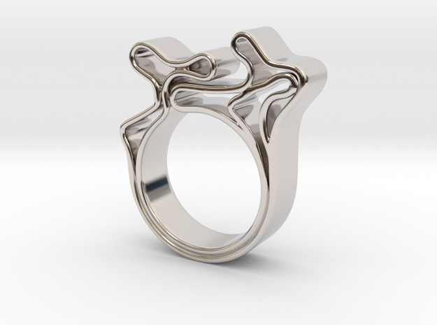Portroni in Rhodium Plated Brass