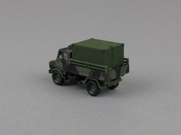 1:160 Kabine 1 Bundeswehr shelter V1 in Smooth Fine Detail Plastic