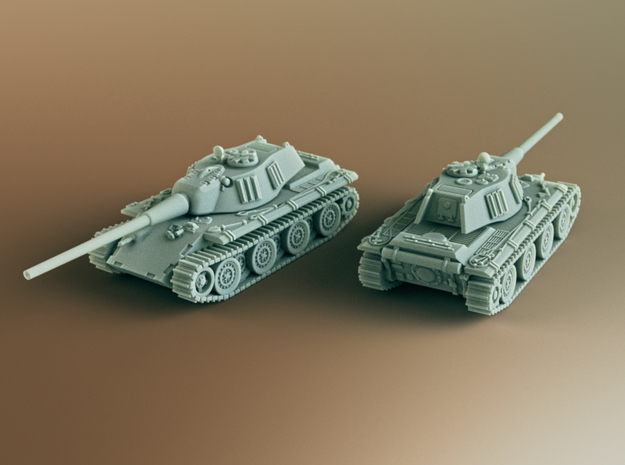 Entwicklung E-79 German Tank (Fake) Scale: 1:160 in Smooth Fine Detail Plastic