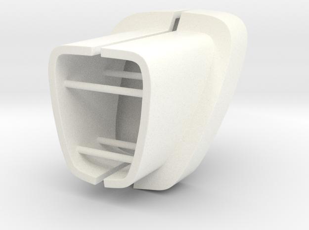 SPRC Rear Bumper Extension for TRC G-Class in White Processed Versatile Plastic