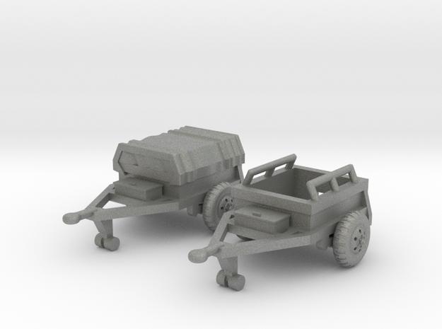 M332 Ammo Trailer in Gray Professional Plastic: 1:160 - N