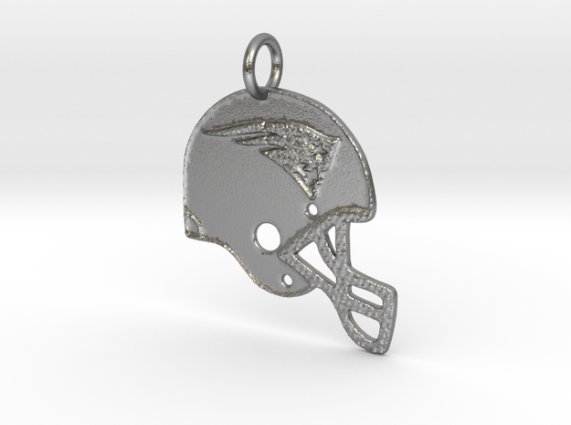 New England Patriots in Natural Silver