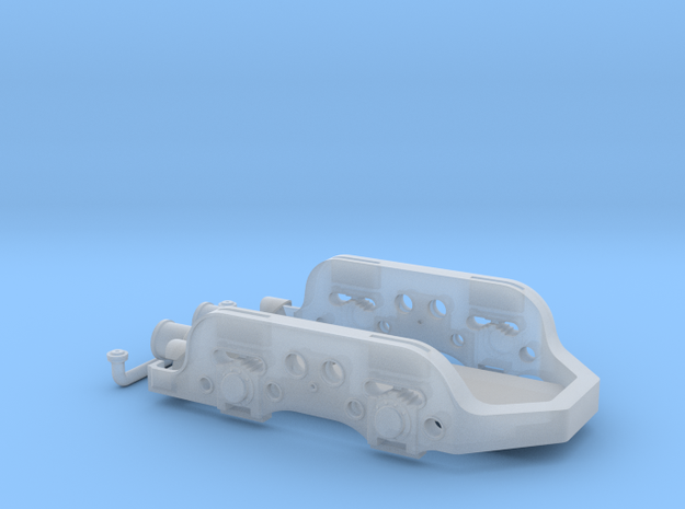 HO Reading T1 Rear truck frame in Smooth Fine Detail Plastic
