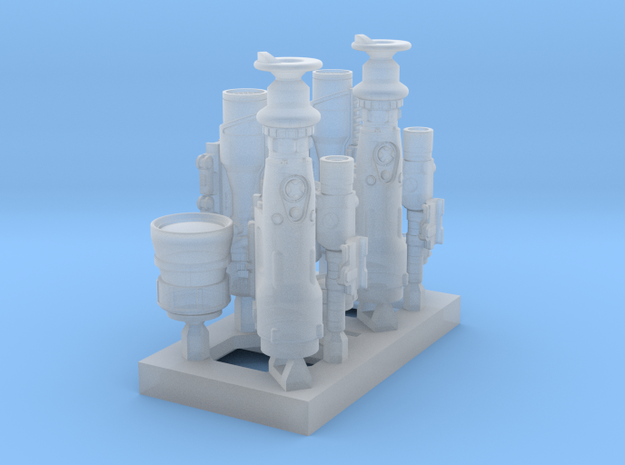 1/10_SPm001_HeavyGunScopes in Smoothest Fine Detail Plastic