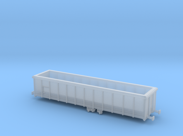 Wagon PKP 401Wj (Eaos-w) N Scale / Skala N in Smooth Fine Detail Plastic