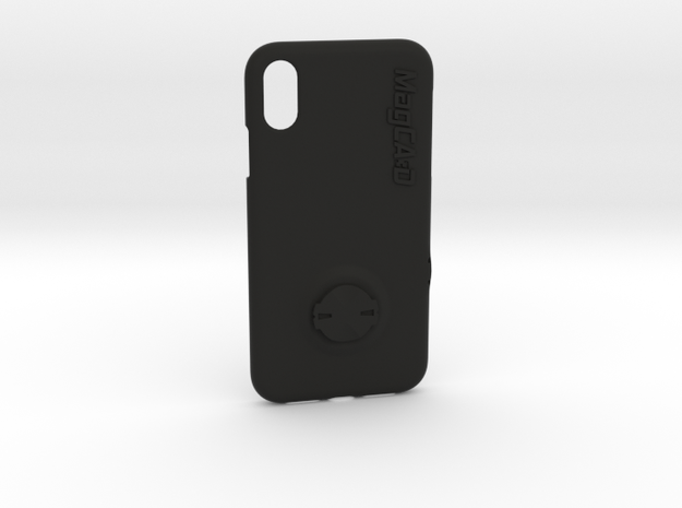 iPhone XR Garmin Mount Case in Black Natural Versatile Plastic
