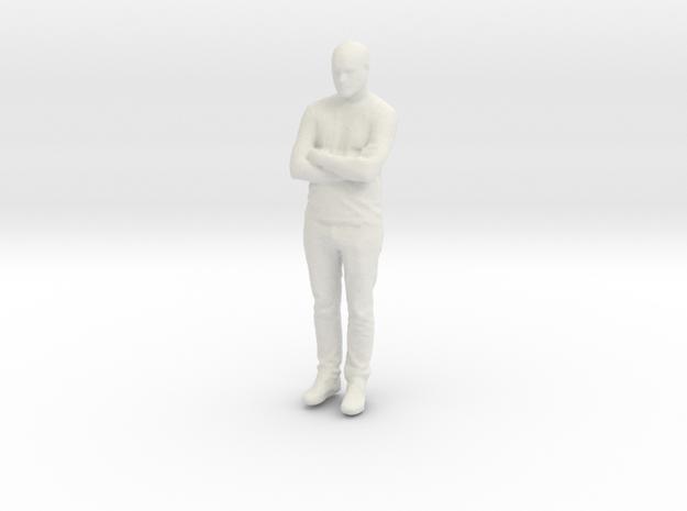 Printle C Homme 885 - 1/30 - wob in White Natural Versatile Plastic