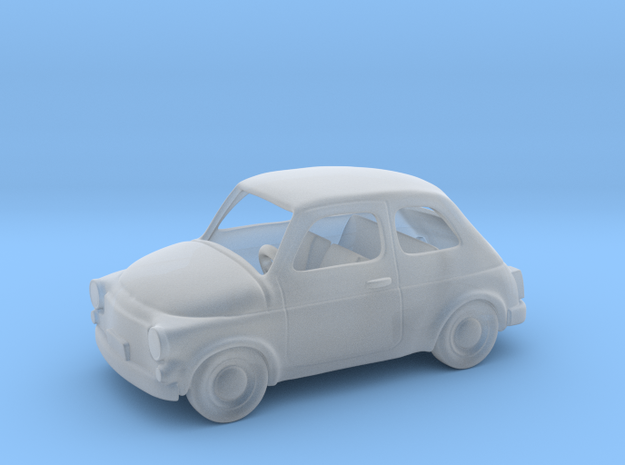 Fiat 500 1960  1:87 HO in Smooth Fine Detail Plastic