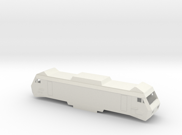SNCF BB2600 Scale TT Sybic in White Natural Versatile Plastic