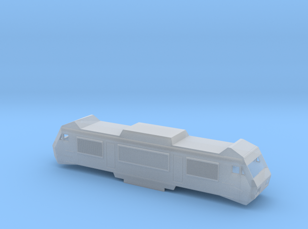 SNCF BB2600 Scale TT in Smooth Fine Detail Plastic