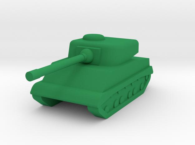 M4 Sherman 1I300 in Green Processed Versatile Plastic
