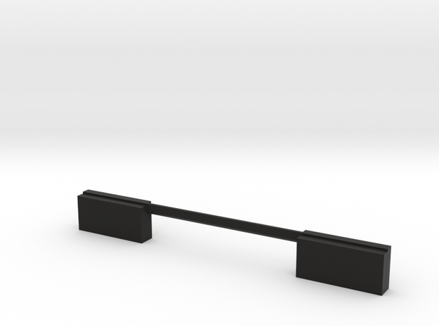 Delta Chassis Samurai Rear Plug in Black Natural Versatile Plastic