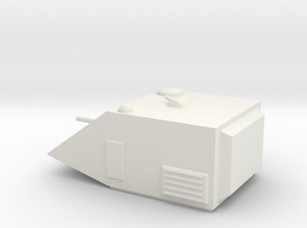 Panther Medium Grav Tank 15mm in White Natural Versatile Plastic