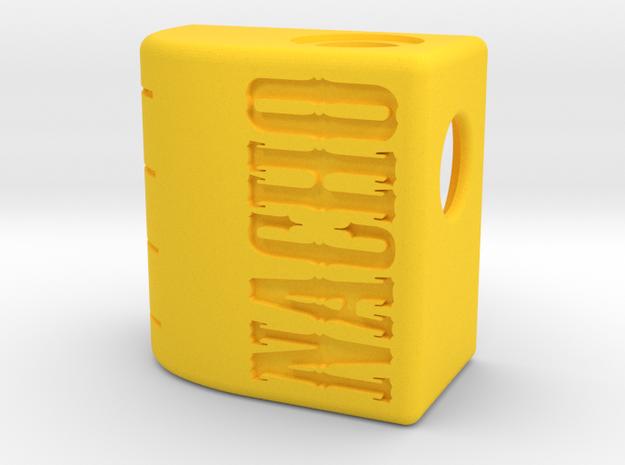 Nacho Jr 18350 Squonker in Yellow Processed Versatile Plastic