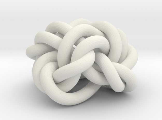 B&G Knot 21 in White Natural Versatile Plastic
