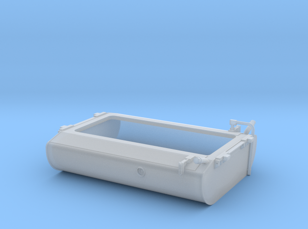 FT0006 GP38-2W Fuel Tank, As Built 1/87.1 in Smoothest Fine Detail Plastic