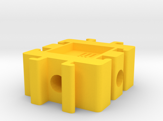 Expandable Ant Farm Crossroad in Yellow Processed Versatile Plastic