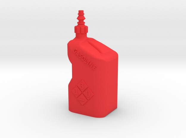 1Tenth Gasoline Tuf Jug in Red Processed Versatile Plastic