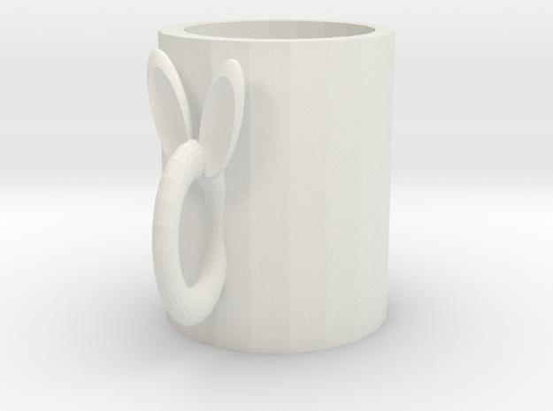 Cup.stl in White Natural Versatile Plastic