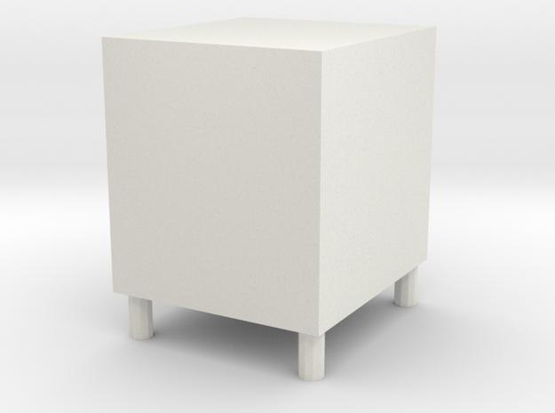 Low cabinet in White Natural Versatile Plastic