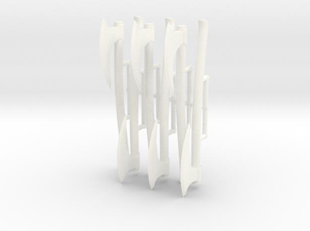 VIKING AXE 2X6  in White Processed Versatile Plastic