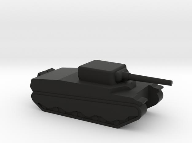 M6 Heavy tank in Black Natural Versatile Plastic
