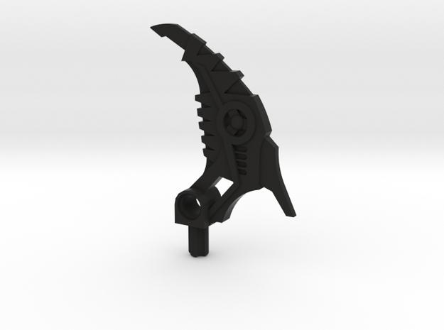 Bootleg Shadow Hook in Black Natural Versatile Plastic