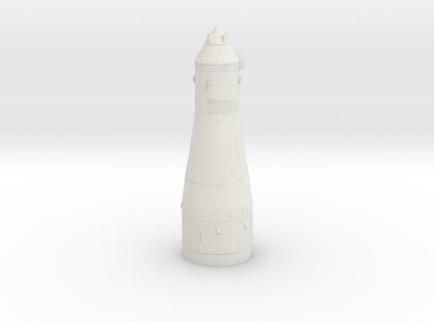 1:100 scale Sat 1b/Sat 5 S4B/SM/CM in White Natural Versatile Plastic