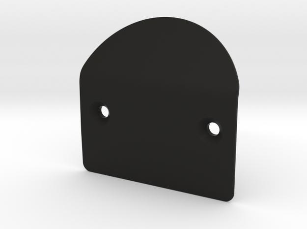 EGT front bumper in Black Natural Versatile Plastic