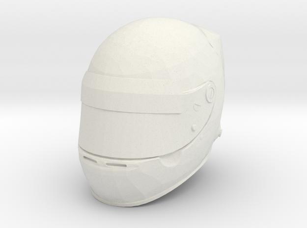 Helmet F1 - 1/2 in White Natural Versatile Plastic