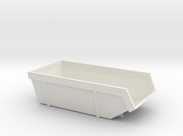 Scale Bash Course DIO Garbage Skip in White Natural Versatile Plastic