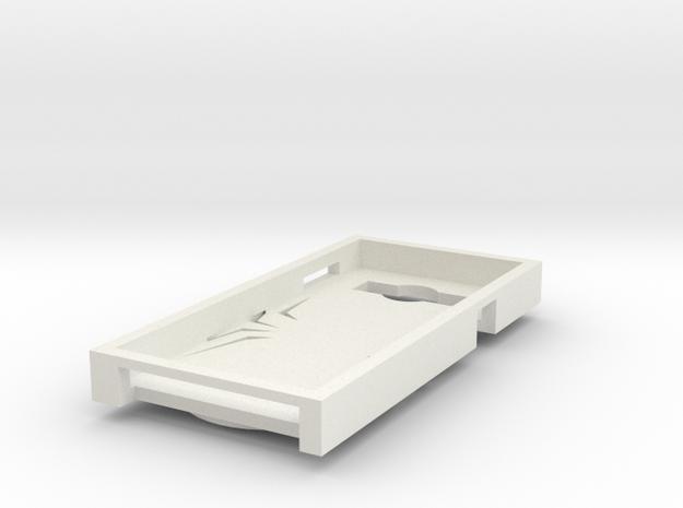 Spider phone case in White Natural Versatile Plastic