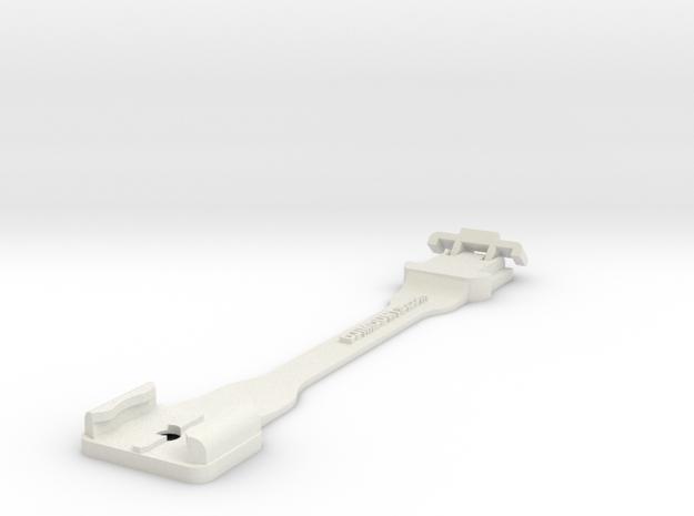Stick Extender 20cm for Drone Camera Mount in White Natural Versatile Plastic