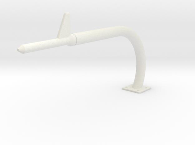 Vario UH-1 Pitot Tube 1/7 in White Natural Versatile Plastic