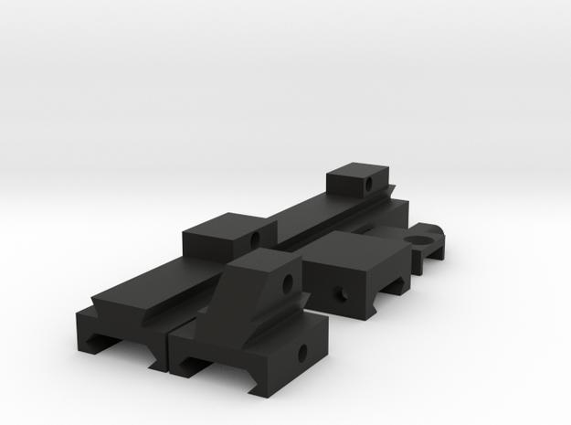 G36 Conversion Kit for Dye Dam Paintball Marker in Black Natural Versatile Plastic