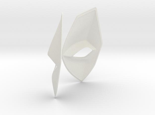 Lady Deadpool Eyes in White Natural Versatile Plastic