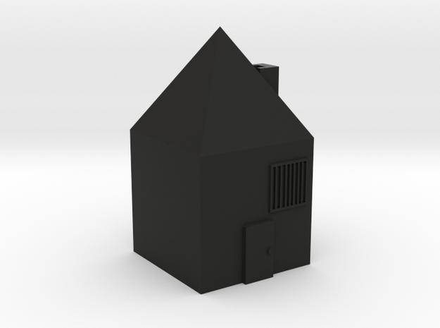 house in Black Natural Versatile Plastic