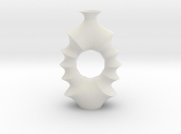 Vase 2008K Redux in Matte Full Color Sandstone