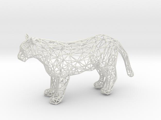 Puma in White Natural Versatile Plastic