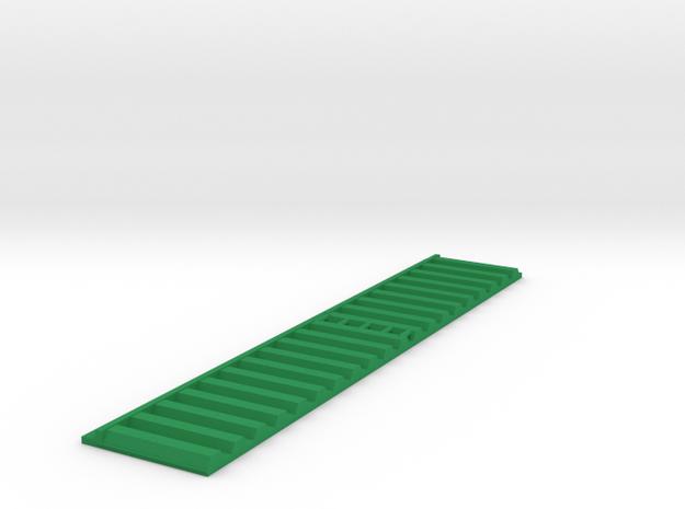 Kanalwand 100 x 20 mm mit Leiter in Green Processed Versatile Plastic
